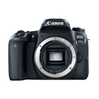 NEW Canon 77D Camera Body Only