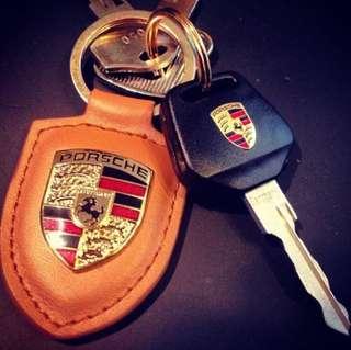 Porsche keychain (original)