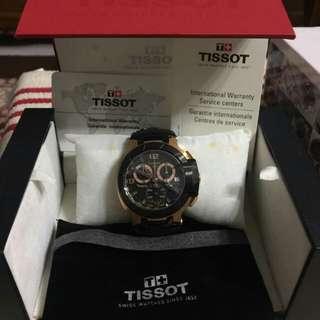 Tissot T-Race rosegold