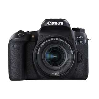 NEW Canon 77D Camera + Canon 18-55mm STM Lens