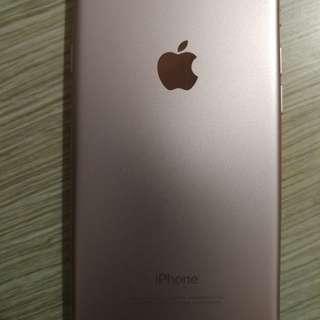 99%New iPhone7 玫瑰金 32gb 有保