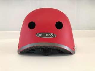 New Micro helmet - matt red