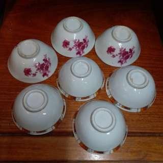 小茶碗7隻