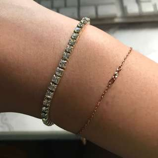 Diamond 💎 bracelet (costume jewerly)