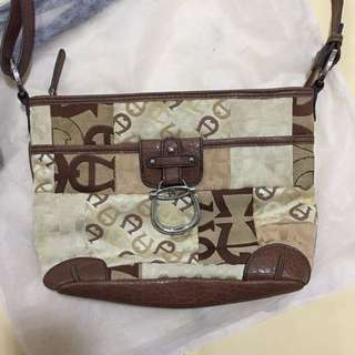 REPRICED! Auth Aigner Sling Bag