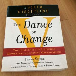 Peter Senge Dance of Change
