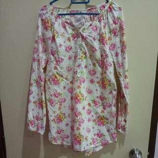 Floral Blouse H&M #FEBP55