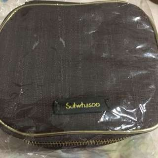 BN Sulwhasoo cosmetic pouch