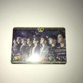 Exo Yes!Card 閃卡 第25期