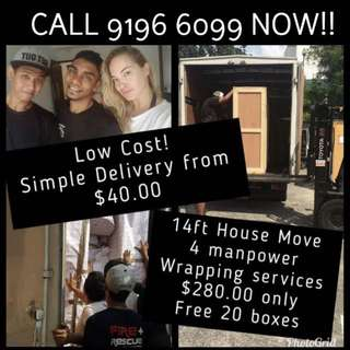 Movers Package Cheap and Delivery