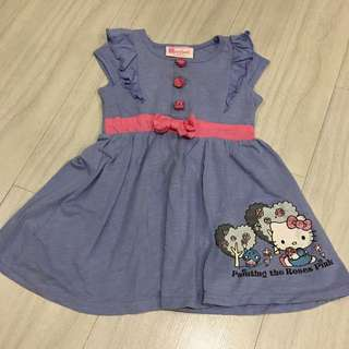 Hello Kitty Storybook Collection Dress (2T)