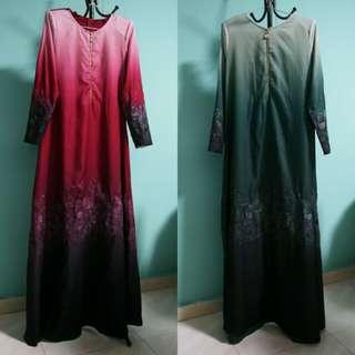 BN Gradient Long Dress [Size 36]