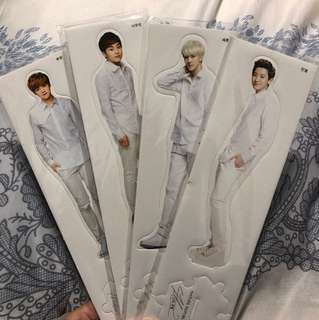Exo nature republic 初代 立牌 nr 燦烈 世勳 xiumin 鹿晗