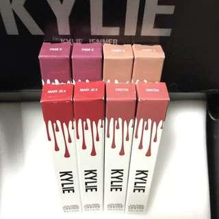 Kylie's Matte Singles: Candy K/Kristen/MJK instock