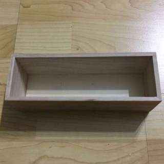CLEARANCE SALES {Design & Craft - Wooden Box} BN Natural Wooden Box