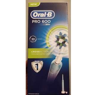 (全新) 德國百靈OralB電動牙刷 Pro600