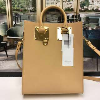 全新 Sophie Hulme Box Tote Bag