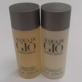 Giorgio Armani Shampoo & Body Gel - 50ml