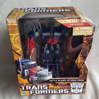 Transformers Optimus Prime Battle Blades