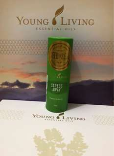 Young Living Essential Oils stress away roll on 10ml