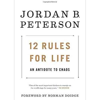 12 Rules for Life: An Antidote to Chaos by Jordan Peterson (ebook)