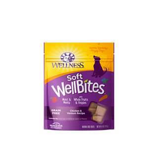 WELLNESS – WELLBITES CHICKEN & VENISON RECIPE 6OZ