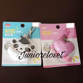 [Juniorcloset] 🆕 Daiso Japan personal safety alarm Panda alarm Security alarm (Japan Direct) High volume