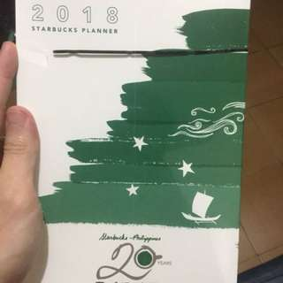 Starbucks Planner 2018 Not Opened