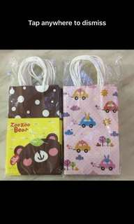Goodies bag- paper bag