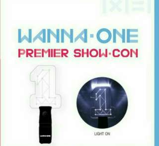 INCLUDE POS OFFICIAL wanna one light stick (Pre order)