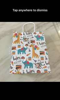 Goodies bag- paper bag