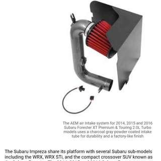 2014-2016 Subaru Forester XT Premium & Touring 2.0L Turbo Air Intake Boosts Power