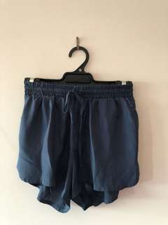 SUPRE - Teal Material Shorts