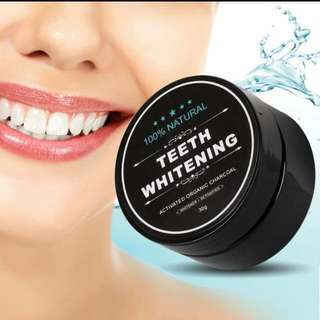 Teeth Whitening Premium Activated Bamboo Charcoal Powder