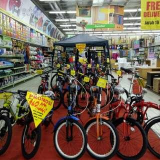 Sepeda Cicilan Tanpa Kartu Kredit