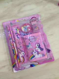 Goodies bag - little pony wallet set