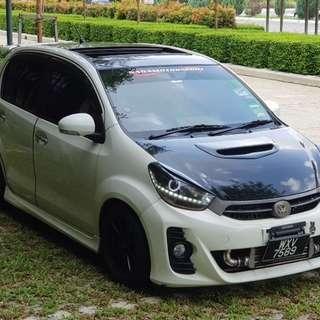 Perodua myvi 1.5 (M) TURBO