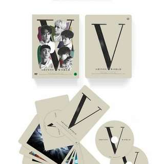 SHINEE WORLD TOUR V IN SEOUL DVD