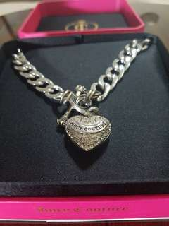 Authentic Juicy Couture Heart Necklace