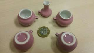 Bright Pink Puteh Feeding Cups