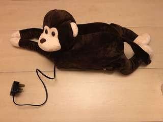 充電暖水袋(猴子)