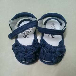 Denim Girl Baby Shoes