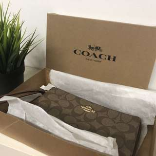 Coach Wristlet Brand New W Tags