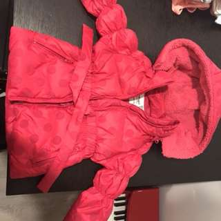 Winter Jacket For Girls, infant down jacket