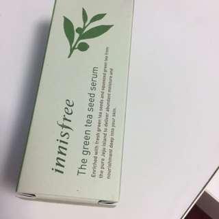 Brand NEW AUTHENTIC Innisfree green tea seed serum EXP 2020