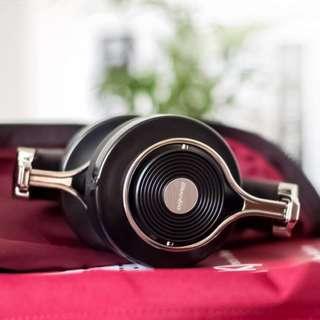 Bluedio T3 BLACK (Turbine 3rd) Extra Bass Wireless Bluetooth 4.1 Stereo Headphones (Black)