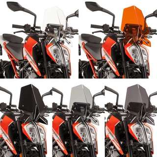 KTM Duke 125/200/390 Puig Windscreen