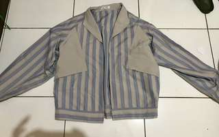 Unbrand stripes jacket