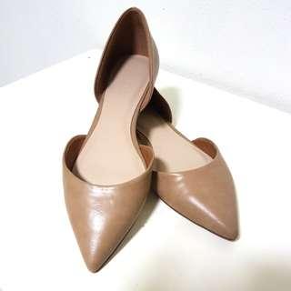 Aldo nude flat shoes OL
