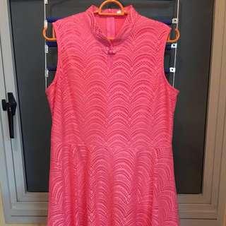 Pink Dress - Chinese New Year